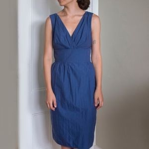 Max Mara Navale Sleeveless Bow Dress